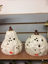 Ceramic Light Up Pumpkin