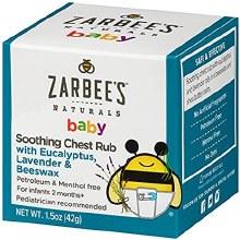 Zarbee's Baby Chest Rub 1.5oz