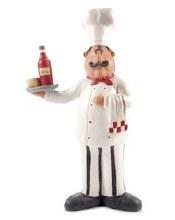 Chef w/ Wine Tray