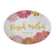 Blessed Mother Paperweight