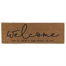 Welcome Grace Door Mat