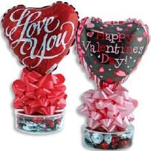 Valentine Balloon w/ Hard Cand