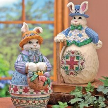 Man patchwork bunny