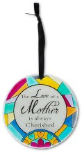 """Mother Glass Ornament 4"""""""
