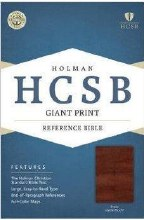 HCSB Giant Print Reference Bib