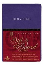 HCSB Gift & Award Bible- White