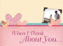 When I think about you