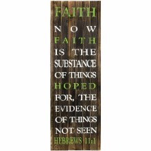 """Faith"" Wall Art"