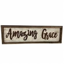 Amazing Grace Framed Decor