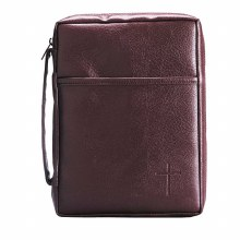 Hand Book Cover Burgundy