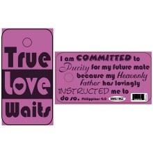 BRAG TAGZ True Love Waits PVC