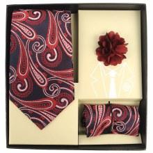 Men's Tie/Hanky/Lapel Paisley