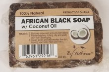 African Black Soap w Coconut