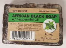 African Black Soap w Peppermnt