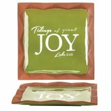 Tidings and Joy Plate