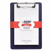 Cheerful Heart Clip Board