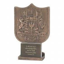 Faith Coat Of Arms Figurine