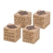 John 3:16 Verse Cube