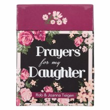 Prayers For My Daugther -Cards