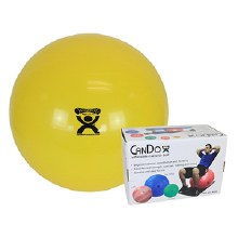 "CanDo Exercise Ball 18"" Yellow"