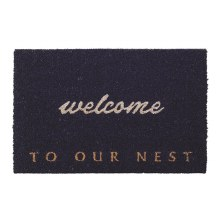 DOORMAT-WELCOME TO OUR NEST
