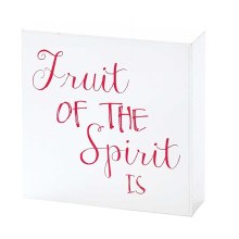 FRUIT OF THE SPIRIT PLQ