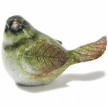 Green Bird Figure