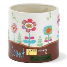 Flower pot terra cotta