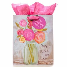 Grace Peace Love Gift Bag Med