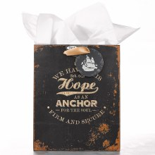Hope As An Anchor Gift Bag Med