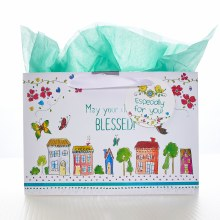 Houses Good Day Gift Bag Sm