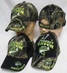 Perfect Catch Hats Black Front