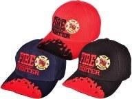 Fire Fighter Cap - Black