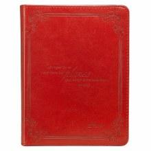 Diario Yo Planes Journal Red