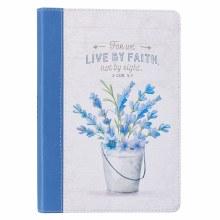 Live By Faith Slimline Faux Le