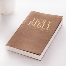 KJV Bible in Gold