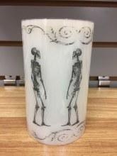Skeleton Wax Candle LED Flame
