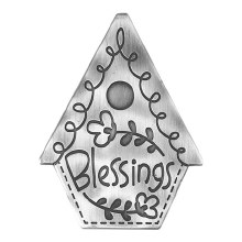 Magnet House Blessings Metal