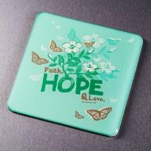 Faith Hope Love Butterfly Magn