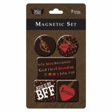 LOVE Magnet Set