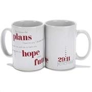 For I Know The Plans Mug