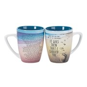 Beach Footprints Mug