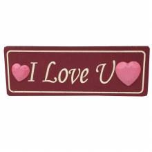 Valentine's Wood Mini Sign - 3