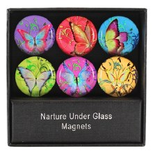 BUTTERFLY PARADISE GLASS MAGNT