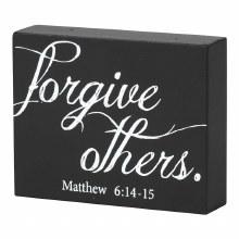 FORGIVE PLAQUE