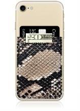 Python Leather Phone Pocket