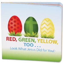 RED GREEN YELLOW TOO BOOK