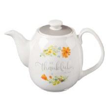 Be Thankful Teapot