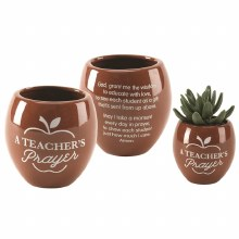 A TEACHERS PRAYER FLOWER POT