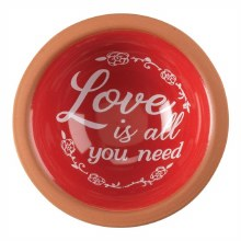Love Is All You Terra Cotta